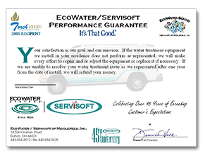 Ecowater performance guarantee